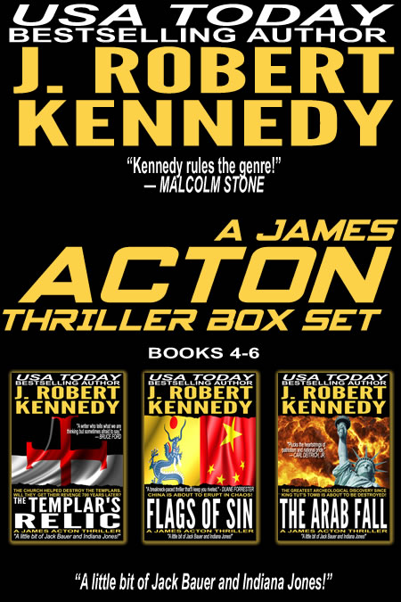The James Acton Thrillers Series: Books 4-6